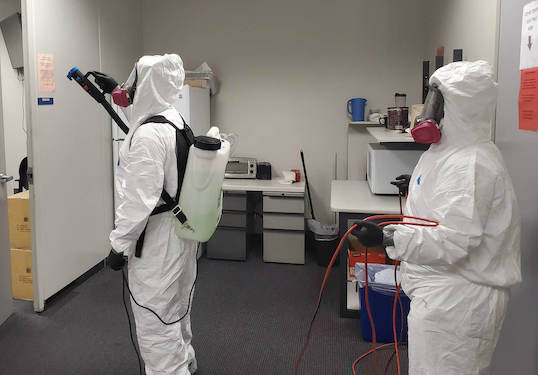 Biohazard Cleaning San Antonio Austin